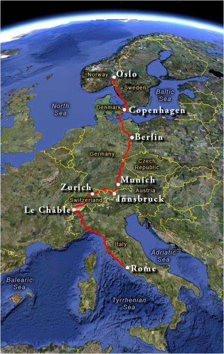 OTR Route Map